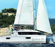 Catamaran Saba 50 available for charter in Marina Red Hook
