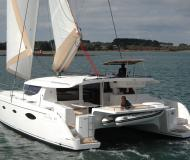 Kat Salina 48 Yachtcharter in Frenchtown Harbour Marina