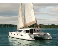 Catamaran Salina 48 for charter in Kastela