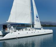 Catamaran Tahiti 80 available for charter in Tivat