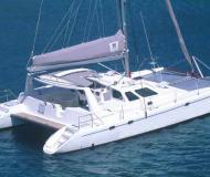 Katamaran Voyage 440 Yachtcharter in Marina Alboran