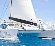 Catamaran Voyage 500 for hire in Sopers Hole