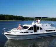 River Boat Hire Europa 400 Marina Fleeensee (Germany)