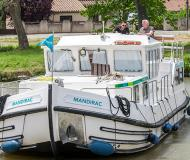 Houseboat Penichette 1160 for hire in Marina Lutzelbourg