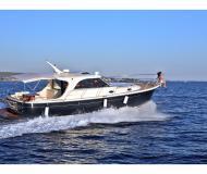 Motor boat Adriana 44 for hire in Marina Dalmacija