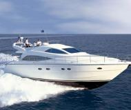 Motor yacht Aicon 56 Fly for rent in Alimos Marina Kalamaki
