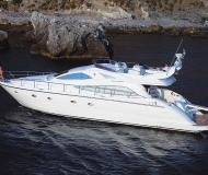Aicon 56 Fly Motoryacht Charter Palermo