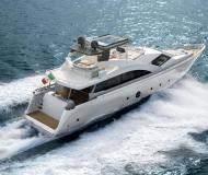 Motor boat Aicon 75 for charter in Milazzo