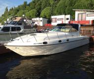 Motor boat Ambassador 36 available for charter in Dolgoprudny Marina