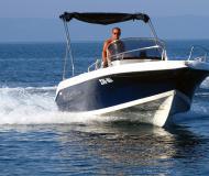 Motor yacht Atlantic Marine 550 for rent in Makarska