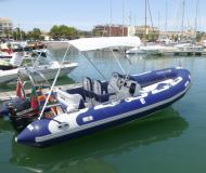 Motoryacht Avon 580 Yachtcharter in Marina de Lagos