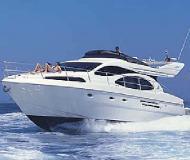 Motoryacht Azimut 46 Yachtcharter in Marina Alimos Kalamaki