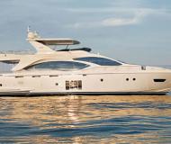 Motoryacht Azimut 70 Yachtcharter in Miami