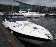 Motor boat Camargue 44 available for charter in Marina Lindholmen