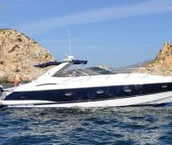 Motor yacht Camargue 44 for hire in Port Adriano