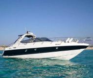 Motor boat Cranchi 41 for hire in Marina Ibiza