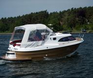 Motoryacht Dominator 780S Deluxe chartern in Marina Eldenburg