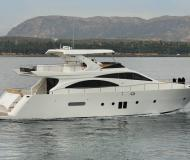 Motoryacht DOQUEVE 70 for rent in Marina Botafoch