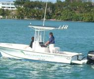 Motor boat Dusky 22 available for charter in Marsh Harbour City