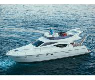 Motor boat Ferretti 430 available for charter in ACI Marina Split