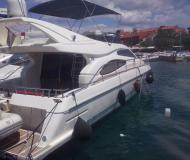 Motor yacht Ferretti 46 Fly for rent in Marina Baska Voda
