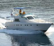 Yacht Ferretti 52 for charter in Marina Kremik