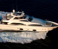 Motor boat Ferretti Custom Line 97 for rent in Portoferraio