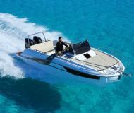 Motoryacht Flyer 7.7 SUNdeck Yachtcharter in ACI Marina Trogir