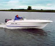 Motor boat Galia 440 for charter in Marina am Tiefen See