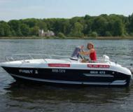 Chartern Motorboot Galia 475 Marina am Tiefen See