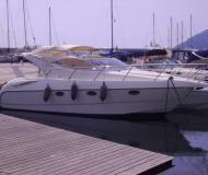 Motorboot Gobbi 315 SC Yachtcharter in Hafen von San Remo