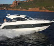 Motor yacht Gran Turismo 38 for charter in Port Goecek Marina
