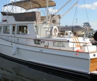 Motor boat Grand Banks 42 available for charter in Vancouver