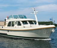 Motorboot Grand Sturdy 34.9 AC Yachtcharter in Marina Zehdenick