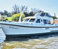 Motor yacht Grand Sturdy 36.9 AC available for charter in Hobbs of Henley Boatyard