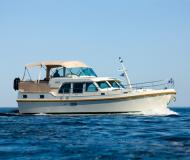 Motor yacht Grand Sturdy 40.9 AC for hire in Marina Aquarelle