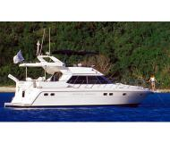 Motor yacht Horizon 48s for rent in Nanny Cay Marina