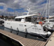 Motor yacht Lagoon 40 available for charter in Marina Mandalina