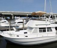 Motor yacht Mainship 390 Trawler for hire in Frenchtown Harbour Marina