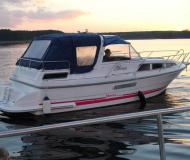 Motor boat Marex 280 available for charter in Boathouse Himmelpfort