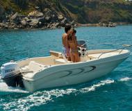 Monella 18 Motorboot Charter Italien