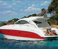 Motor boat Monte Carlo 37 Hard Top for rent in Alimos Marina Kalamaki