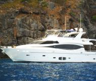 Motor yacht Montefino 78 for rent in Port de Palma