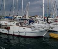 Motor boat MY Franka available for charter in Murter