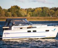 Motoryacht Nautika 830 MC chartern in Wilkasy