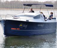 Motoryacht Nexus 850 chartern in Wilkasy Marina