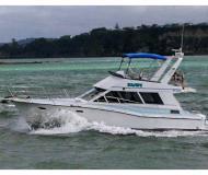 Motorboot Pelin Challenger 38 Yachtcharter in Gulf Harbour Marina