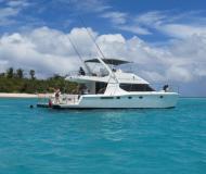 Katamaran Powercat 52 Yachtcharter in Nanny Cay Marina
