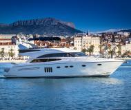Motoryacht Princess 62 Yachtcharter in ACI Marina Dubrovnik