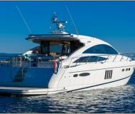 Motor yacht Princess 65 for hire in Stobrec Port